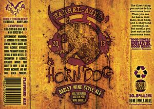 Flying Dog Barrel Aged Horn Dog