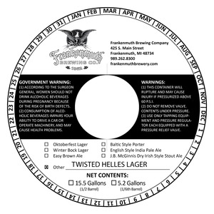 Frankenmuth Twisted Helles