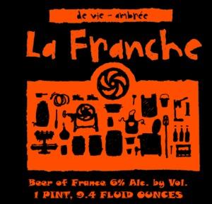 Brasserie La Franche De Vie