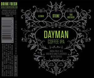 Stone Dayman Coffee IPA