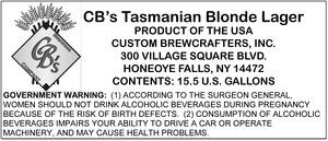 Cb's Tasmanian Blonde