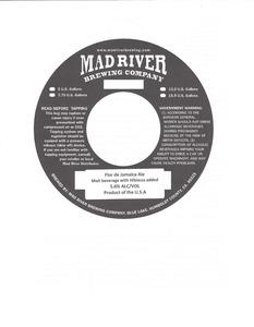 Mad River Brewing Company Flor De Jamaica