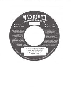 Mad River Brewing Company Bourbon Barrel Aged Vanilla Porter