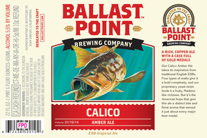 Ballast Point Brewing Company Calico