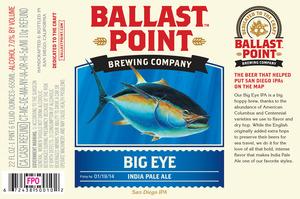 Ballast Point Brewing Company Big Eye