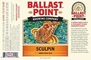 Ballast Point Brewing Company Sculpin