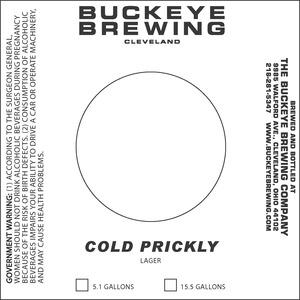 Buckeye Brewing Cold Prickly