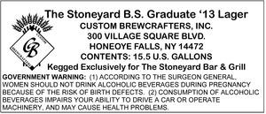 The Stoneyard B.s. Graduate '13