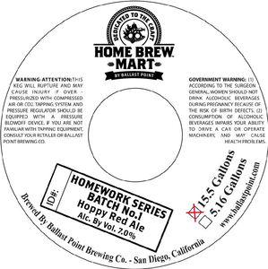 Home Brew Mart Homework Series Batch No.1