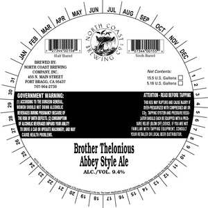Brother Thelonious Abby Style Ale