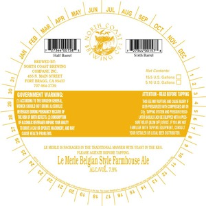 Le Merle Belgian Style Farmhouse Ale