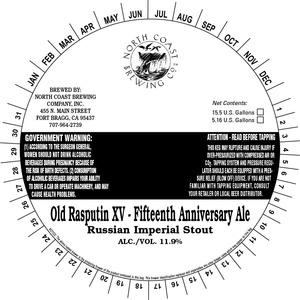 North Coast Brewing Co. Old Rasputin Xv