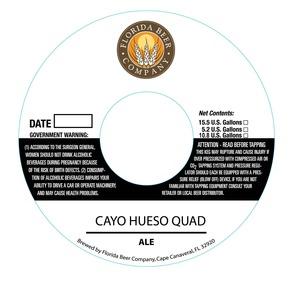 Florida Beer Company Cayo Hueso Quad