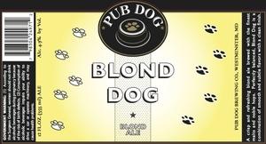 Pub Dog Brewing Co. Blond Dog