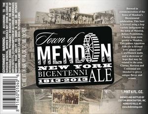 Cb's 1813 Mendon Bicentenni