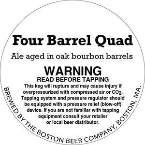 Boston Beer Company Four Barrel Quad