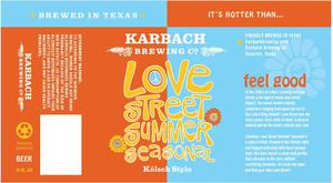 Karbach Brewing Co. Love Street