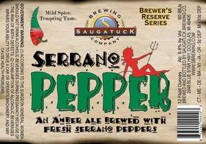 Saugatuck Brewing Company Serrano Peppers