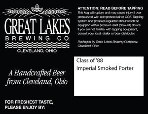 The Great Lakes Brewing Co. Class Of '88