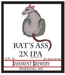 Rat's Ass 2x Ipa India Pale Ale