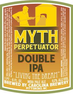 Carolina Brewery Myth Perpetuator March 2013