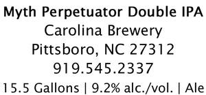 Carolina Brewery Myth Perpetuator