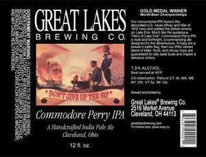 The Great Lakes Brewing Co. Commodore Perry