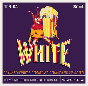 Lakefront Brewery White Beer