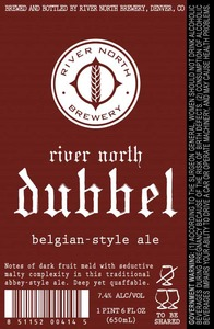 River North Brewery River North Dubbel