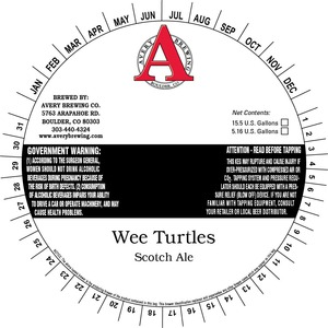 Avery Brewing Company Wee Turtles Scotch