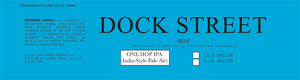 Dock Street One Hop IPA