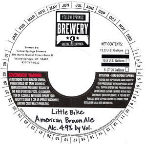 Yellow Springs Brewery Little Bike