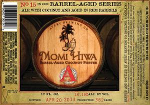 Avery Brewing Company Momi Hiwa Barrel-aged Coconut Porter