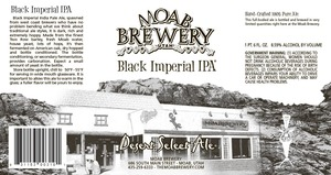 Moab Brewery Black Imperial IPA