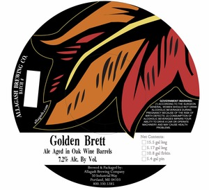 Allagash Brewing Company Golden Brett