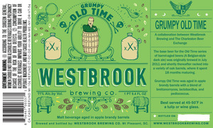 Westbrook Brewing Company Grumpy Old Time