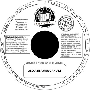 Double Barrel Brewery Old Abe