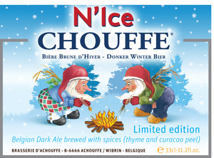 N'ice Chouffe Donker Winter Bier