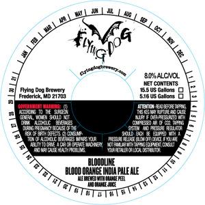 Flying Dog Bloodline Blood Orange India Pale Ale
