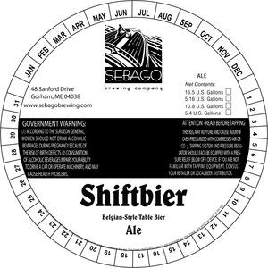 Sebago Brewing Company Shiftbier