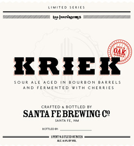 Santa Fe Brewing Co. Kriek