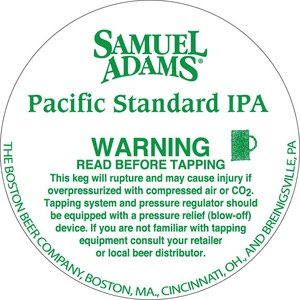 Samuel Adams Pacific Standard IPA