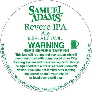 Samuel Adams Revere IPA