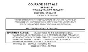 Wells & Young's Brewery Courage Best