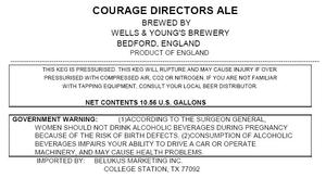 Wells & Young's Brewery Courage Directors