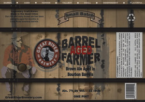 Great River Brewery Barrel Aged Farmer