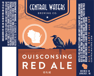Central Waters Brewing Company Ouisconsing Red Ale