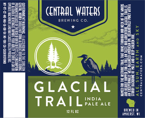 Central Waters Brewing Company Glacial Trail IPA