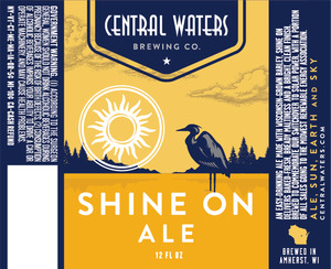 Central Waters Brewing Company Shine On