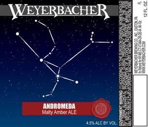 Weyerbacher Andromeda